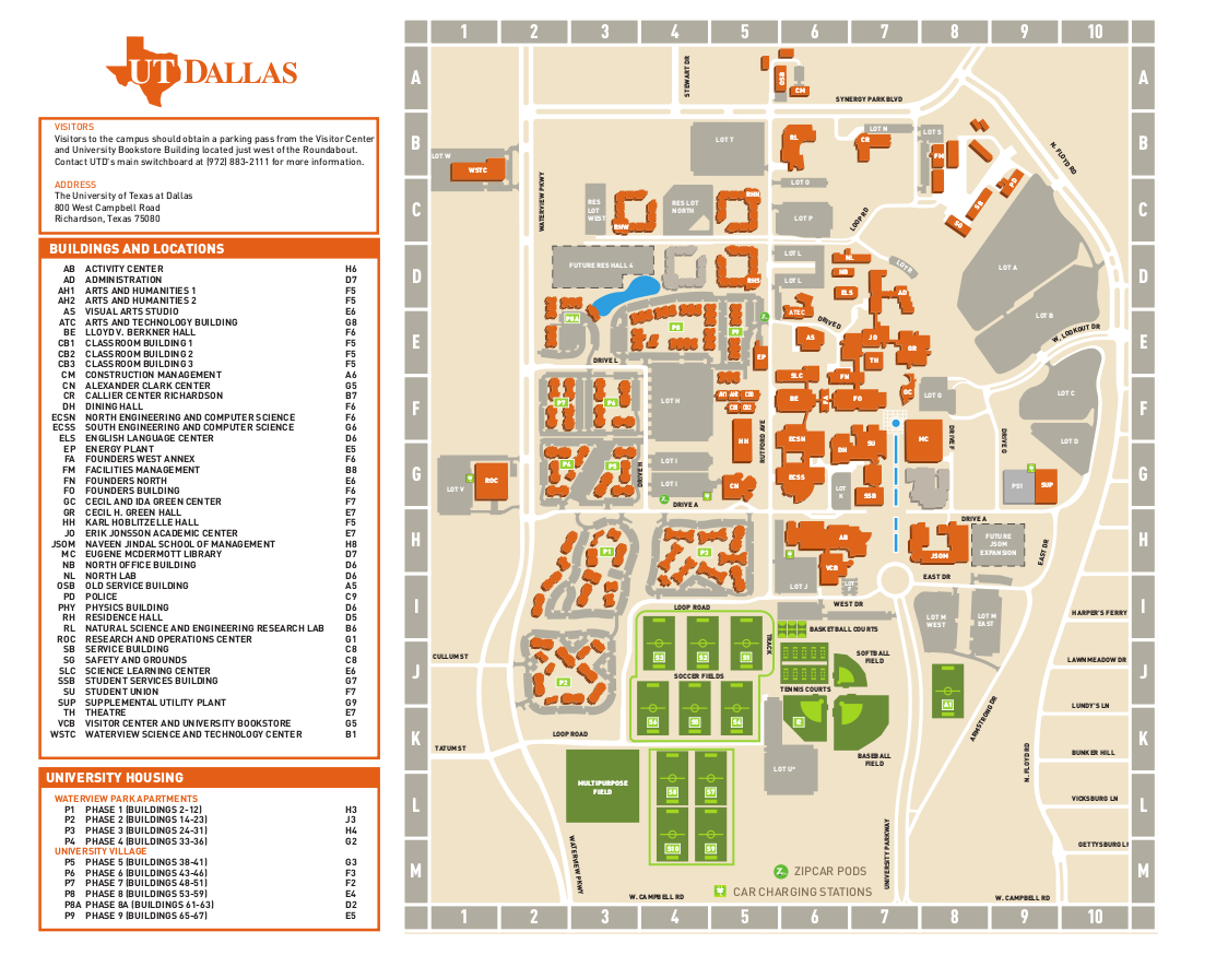 Utd Campus Map minecraft mansion map